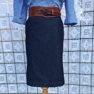 Merona Denim Pencil Stretch Skirt